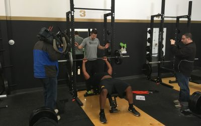 KSTP Sports Features Former Minnesota Gophers Pro Day Prep at Inspired Athletx