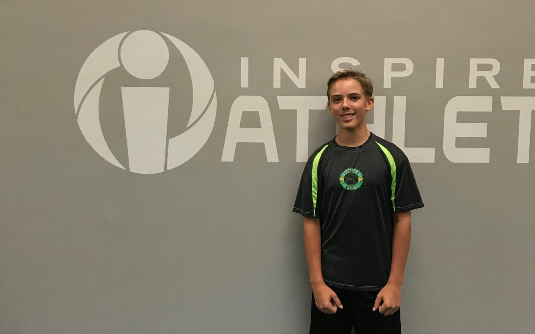 September Athlete of the Month: Landen Gunderson