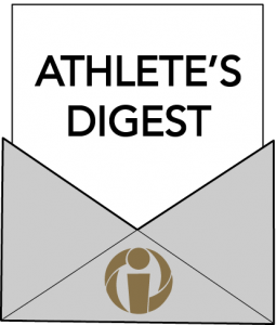 athletes digest the e-newsletter for athletes
