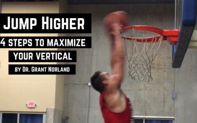 Jump Higher: 4 steps to maximize your vertical