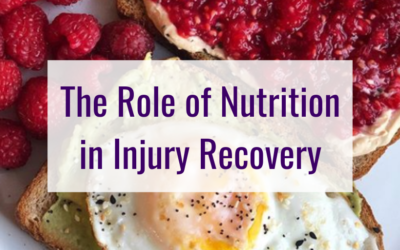 The Role of Nutrition in Injury Recovery