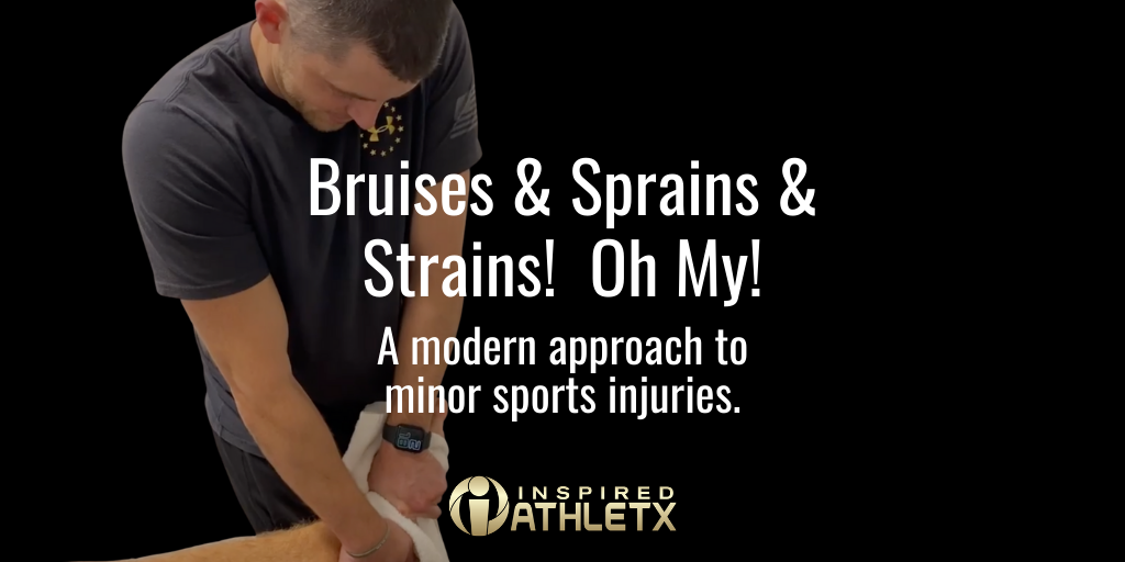 Bruises and Sprains and Strains!  Oh My!