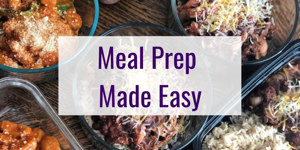 Meal Prep Made Easy